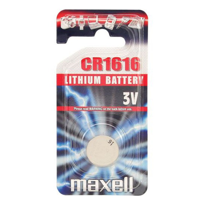Батерия литиева Maxell CR-1616, 3V, 1бр.  image