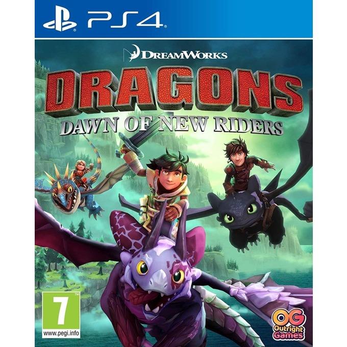 Игра за конзола Dreamworks Dragons: Dawn of New Riders, за PS4 image
