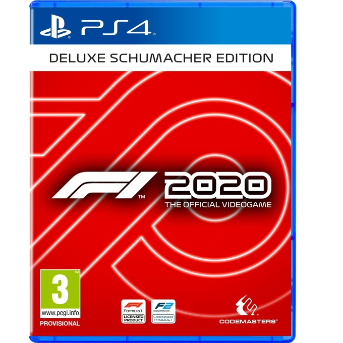 F1 2020 Deluxe - Schumacher Edition PS4 product