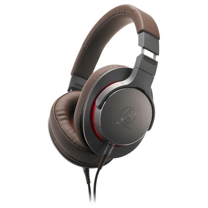 Слушалки Audio-Technica ATH-MSR7b, професионални, кафяви image