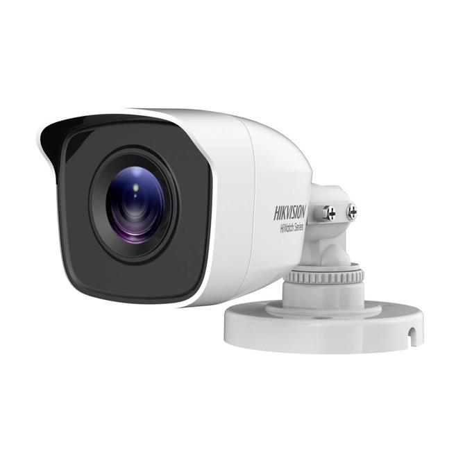 "HDCVI камера HikVision HWT-B110-M, насочена ""bullet"" камера, 1MPix(1280×720@25fps), 2.8/3.6/6 mm, IR осветеност (до 20 m), външна IP66 image"