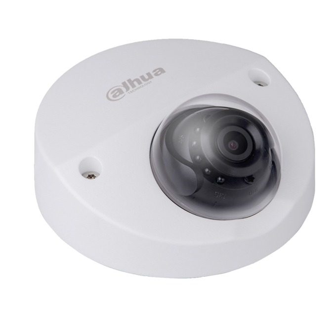 IP камера Dahua IPC-HDBW4431F-AS-0280B, куполна, 4 Mpix(2688x1520@25FPS), 3.6mm обектив, H.265+/H.265/H.264+/H.264, IR осветеност (до 20 метра), PoE, вандалоустойчива IK10, IP67 защита от вода, RJ-45, Micro SD memory, Built-in Mic  image