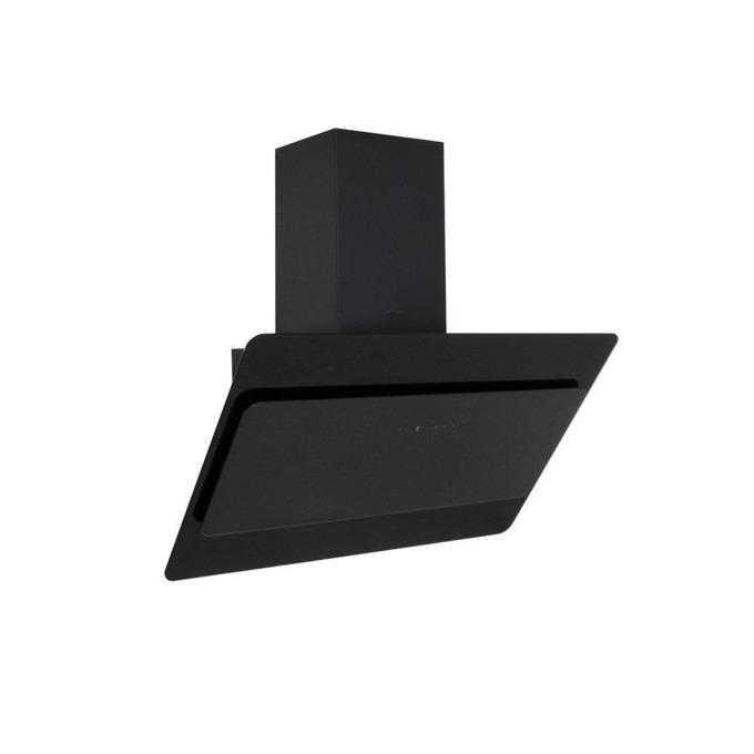 Абсорбатор Finlux FATALE CLA18-90B, за вграждане, дизайнерски, 180W, 556 m3/h, 1x мотор, 5 степени, алуминиев филтър, дистанционно управление, черен image