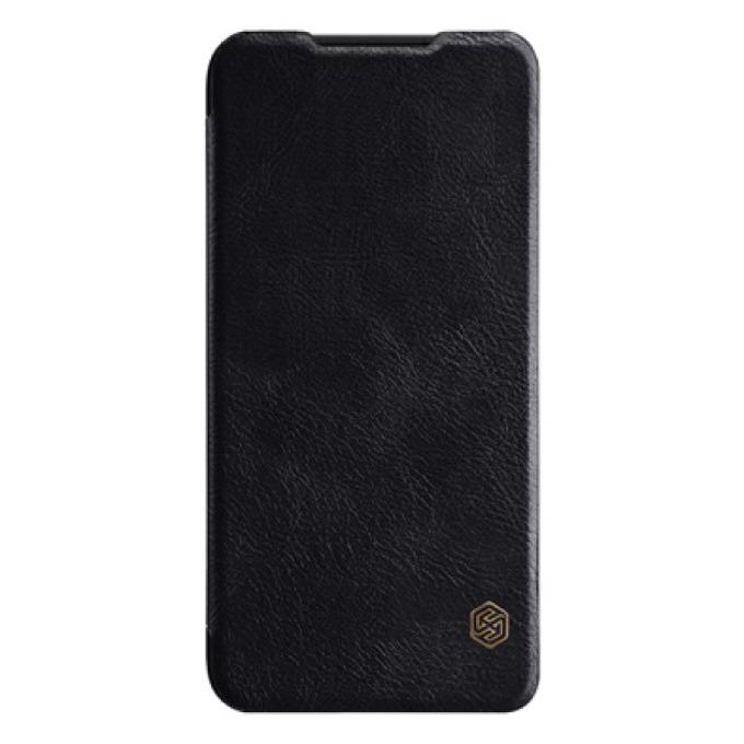 Калъф за Xiaomi Redmi 7, кожен, Nillkin Qin, черен image