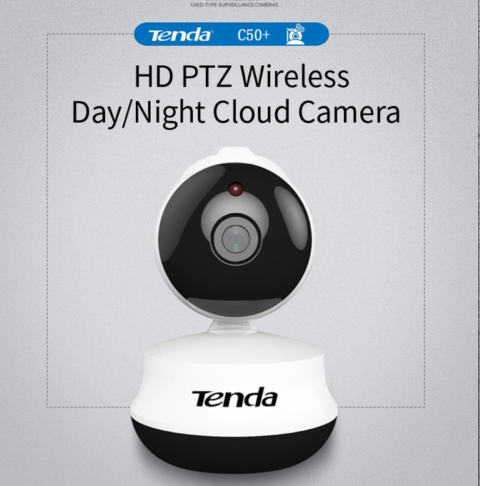 Уеб камера TENDA C50+, микрофон, 1280х720, Pan range: 355°, Tilt range:120°, бяла image