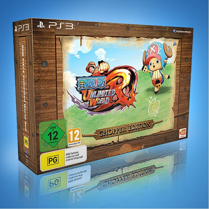 Игра за конзола One Piece Unlimited World Red Chopper Edition, за PlayStation 3 image