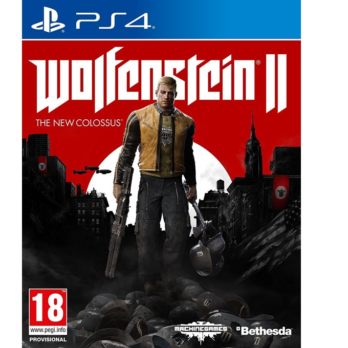 Игра за конзола Wolfenstein 2 The New Colossus, за PS4 image