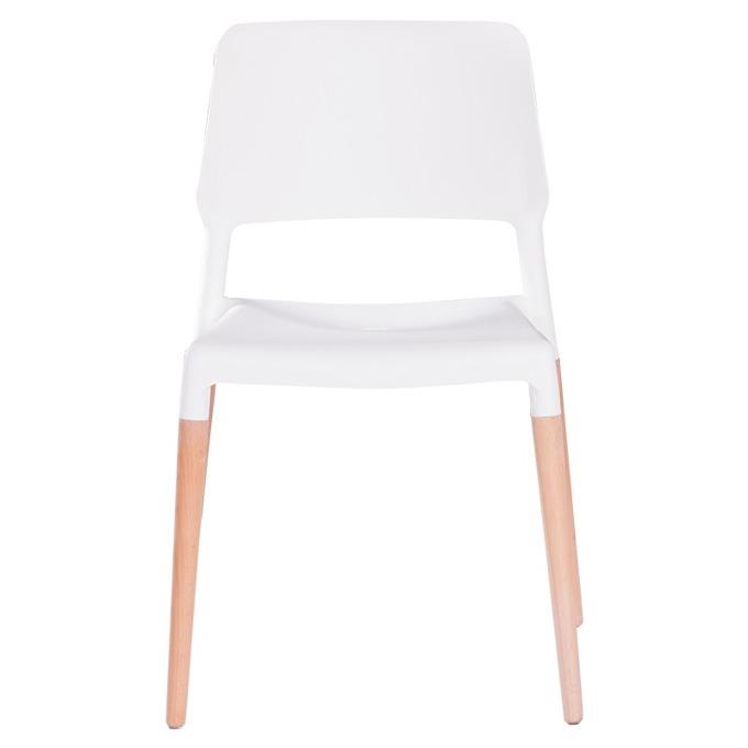 Трапезен стол Carmen 9967 - бял bt-3530261