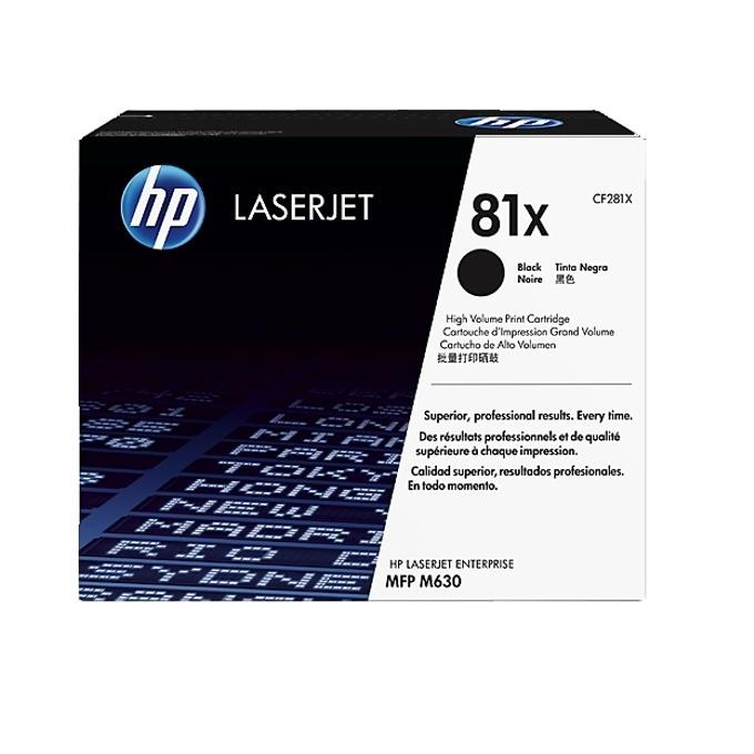 HP 81X (CF281X) Black product
