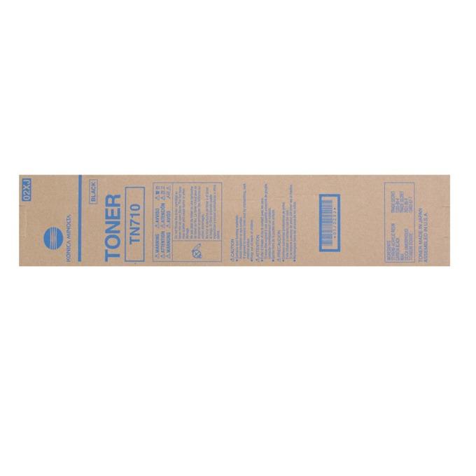 Тонер за Konica Minolta Bizhub 600/750 - Black - TN-710 - Заб.: 55 000k image