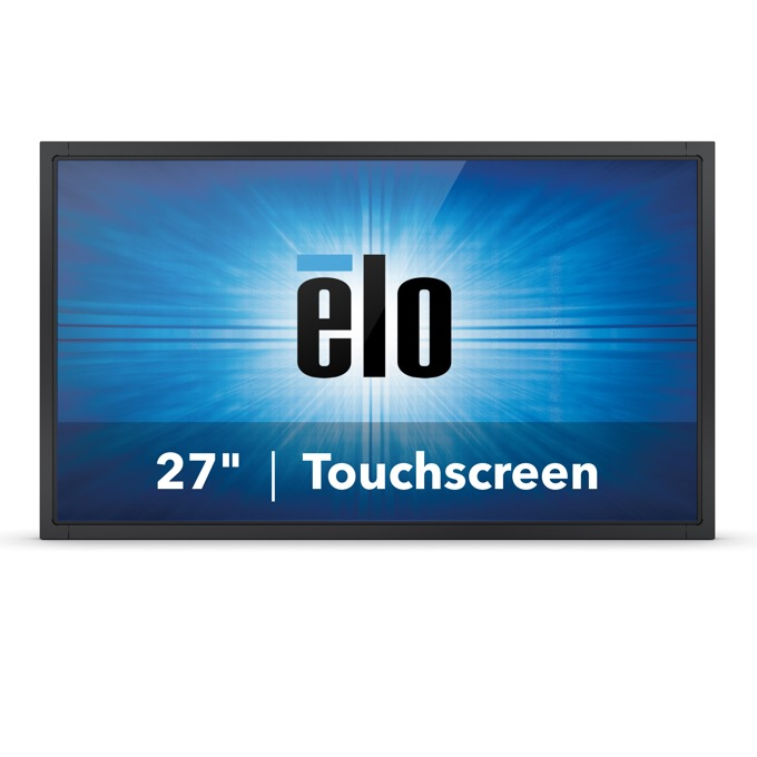 "Монитор ELO E335488, 27""(68.58 cm), TN тъч панел, Full HD, 12ms, 3000:1, 270cd/m2, VGA, DisplayPort, HDMI, черен image"