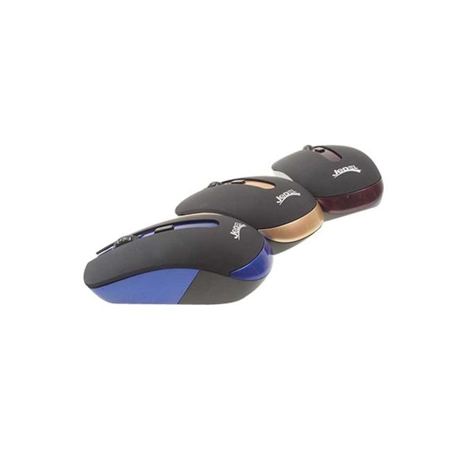 Мишка Jedel W100, безжична, оптична (800 dpi), 2.4GHz, USB, различни цветове image
