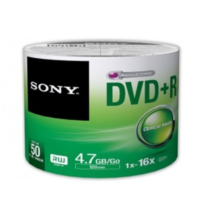 Sony 50 DVD+R bulk 16x