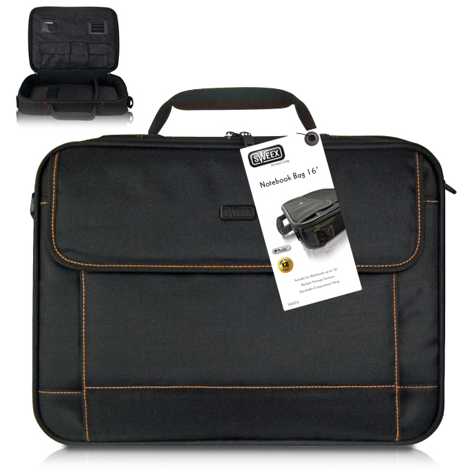 "Чанта Sweex SA026 за лаптоп до 16"" (40.64 cm), черен image"