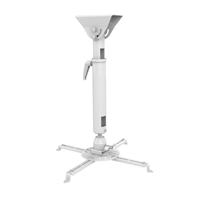Стойка за проектор Sunne PRO300M, за таван, въртене на 360° и наклон до 20°, регулиране на дължината от 470мм до 600мм, до 25кг image