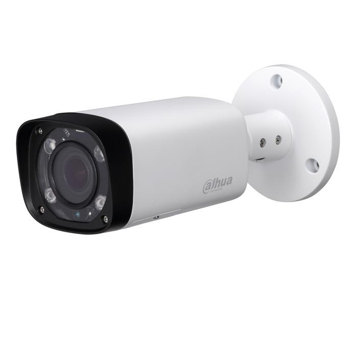 """IP камера Dahua IPC-HFW2231R-ZS-IRE6, насочена """"bullet"""", 2 Mpix(1920x1080@25FPS), 2.7mm~13.5mm обектив, H.265+/H.265/H.264+/H.264, IR осветеност(до 60 метра), външна IP67 защита от вода, PoE, RJ-45 image"""