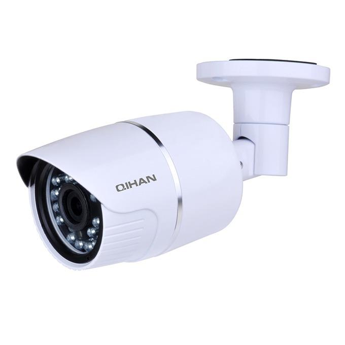 "IP камера Qihan QH-NW457SO-P, водоустойчива, 2.0 MP, 1920x1080@30fps, 1/2.7"" CMOS, POE, 3.6mm, ИЧ-20m image"