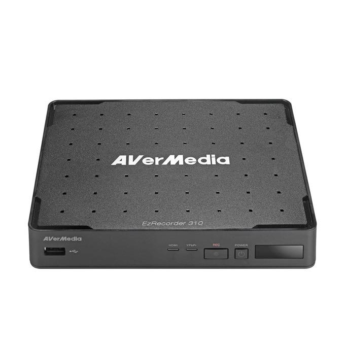 """Аналогов видеорекордер Aver Media EZrecorder 310 AVT, MP4(H.264/AAC), SATA 2.5"""" (6.35 cm), 1x HDMI, 1x USB 2.0, 1x RJ-45, 1x HDMI image"""