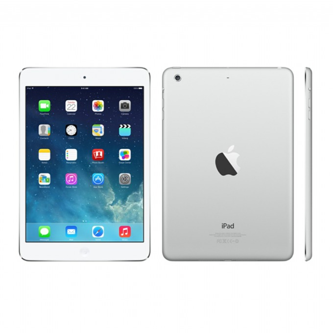 "Таблет Apple iPad Air (MD795HC/A)(сребрист), LTE, 9.7"" (24.64 cm) Retina дисплей, двуядрен Apple A7 1.3 GHz, 1GB RAM, 32GB Flash памет, 5.0 & 1.2 Mpix камера, iOS, 478g image"