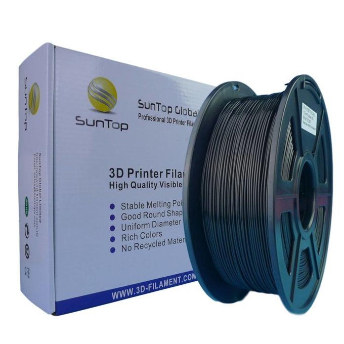 Консуматив за 3D принтер, PLA, 1.75mm, черен, 1kg image