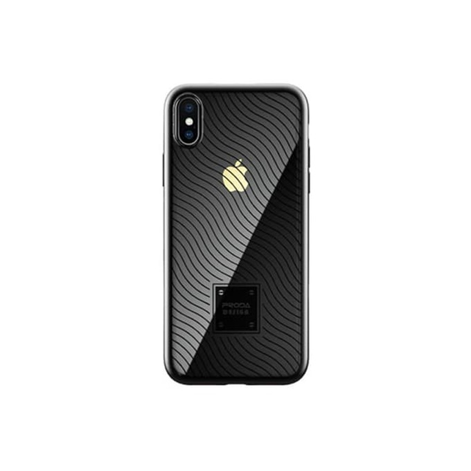 Калъф за Apple iPhone XS, термополиуретанов, Remax Mouss, черен image
