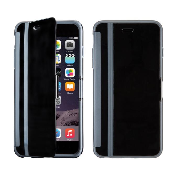 Страничен протектор с гръб Speck за iPhone 6S, с капаче, черен image