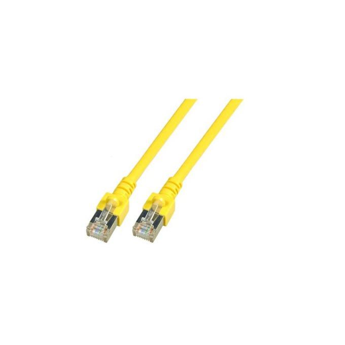 Пач кабел FTP EFB Elektronik, 5m, Cat 5E, жълт image