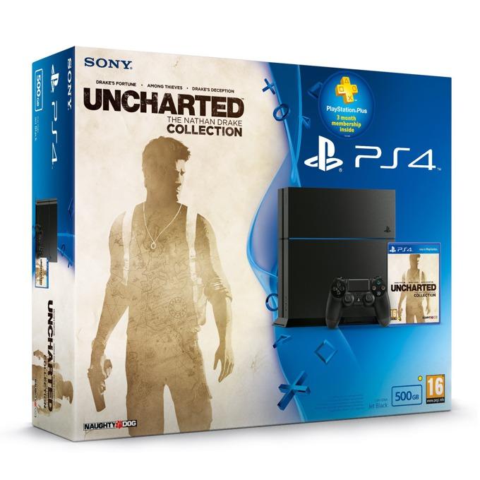 PS4 500GB Nathan Drake Temple Of Osiris product