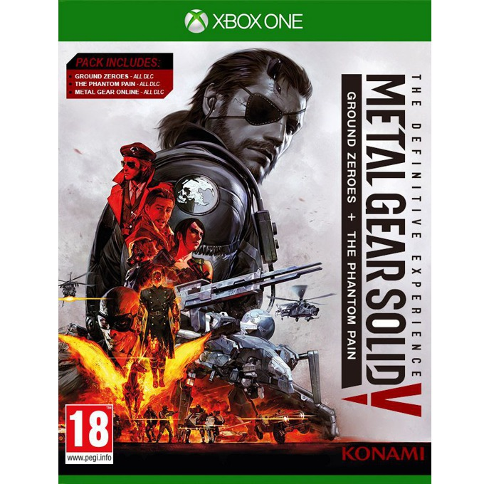 Игра за конзола Metal Gear Solid V: The Definitive Experience, за Xbox One image