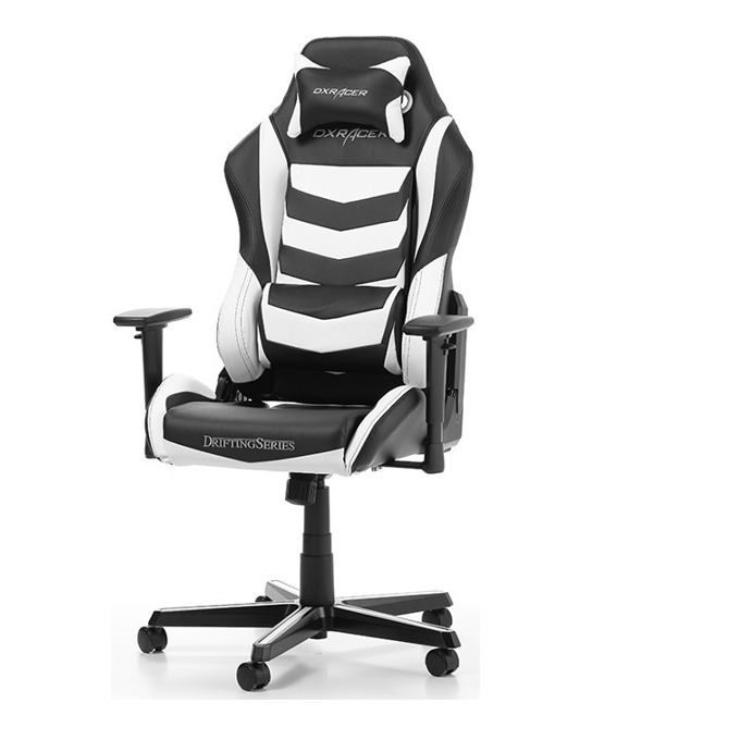 Геймърски стол DXRacer Drifting OH/DM166/NW, черен/бял image