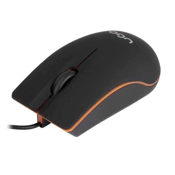 Мишка uGo MY-05, оптична (1200 dpi), USB, черна image