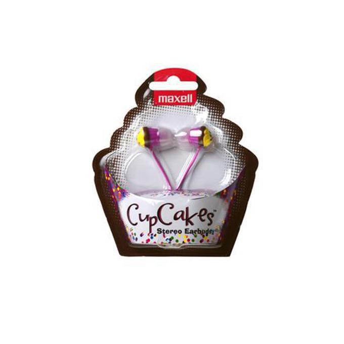 Слушалки MAXELL color CUP CAKE, сини или розови image