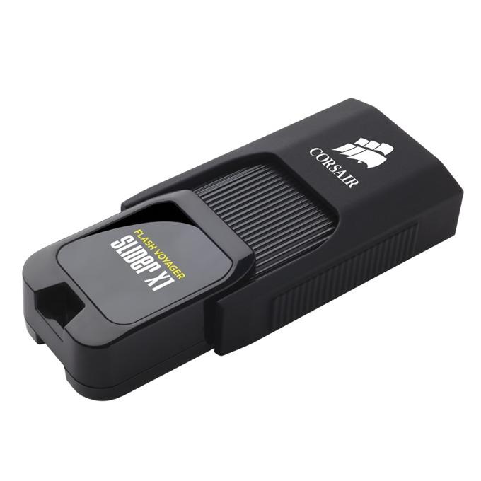 Памет 16GB USB Flash Drive, Corsair Voyager Slider X1, USB3.0, черна image