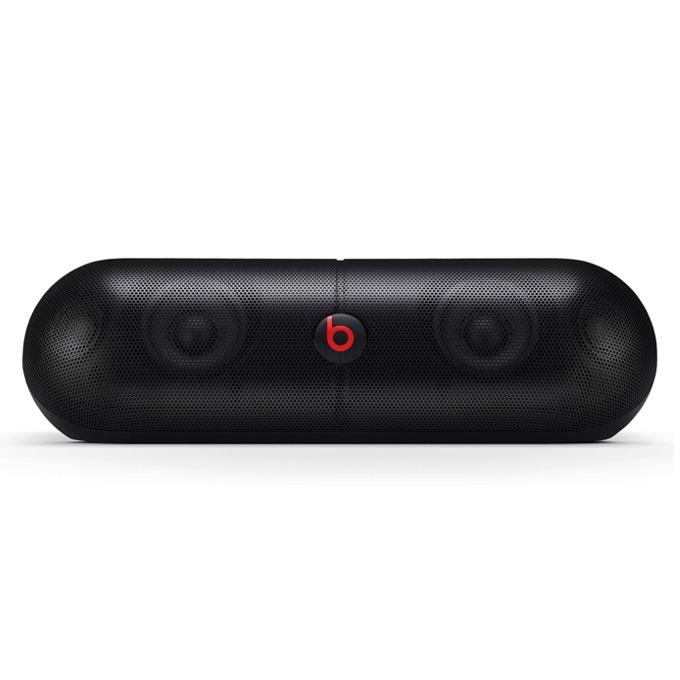 Тонколона Beats by Dre Pill XL Wireless Speaker, 2.0, RMS 6W (3W + 3W), 3,5mm jack/AUX/Bluetooth/USB/SBC/APT-X, черна, оптимизиранa за iPhone/iPad/iPod image