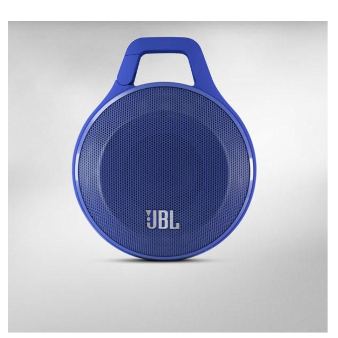 Тонколона JBL Clip, 1.0, 3.2W RMS, 3.5mm jack/Bluetooth, син, микрофон, до 5 часа работа image