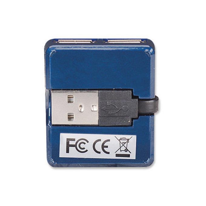 USB Hub Manhattan 160605, 4 port, USB 2.0 image
