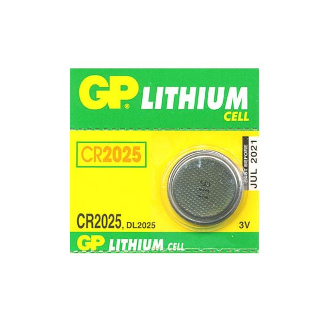 Батерия литиева GP CR2025, 3V, 1 бр. image