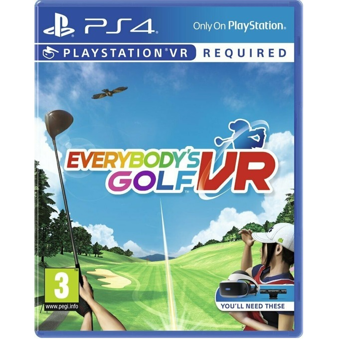 Everybodys Golf VR PS4 product