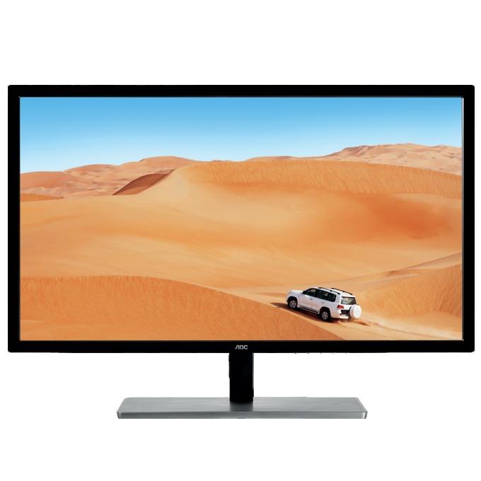 """Монитор AOC Q3279VWFD8, 31.5""""(80.01 cm), IPS панел, QHD, 4 ms, 20M:1, 250 cd/m2, HDMI, VGA, DVI, DisplayPort image"""