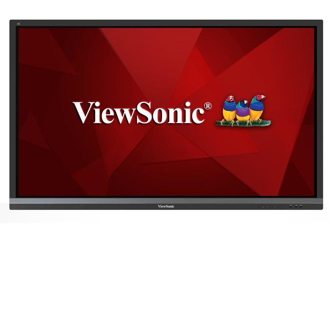 "Интерактивен дисплей Viewsonic IFP6550, 64.5""(163.83 cm), 4K UHD, Infrared multi touch, VGA, HDMI, DisplayPort, RS232, RCA, SPDIF, USB, Wireless, LAN, черен image"