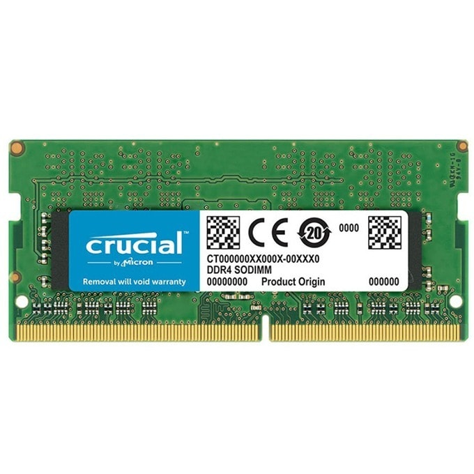 Памет 16GB DDR4 2400MHz, SO-DIMM, Crucial CT16G4SFD824A, 1.2V image