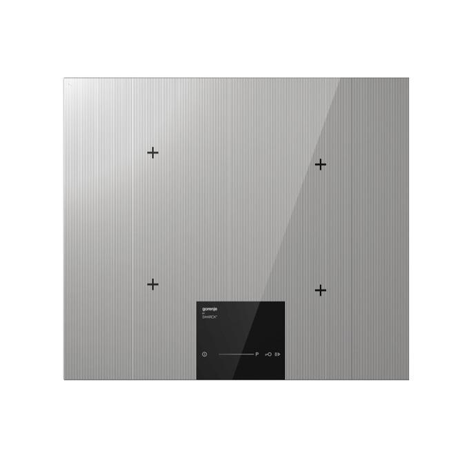 Стъклокерамичен плот за вграждане GORENJE IS 634 ST, 4 нагревателни зони, сензорно управление, 7100 W, хром image