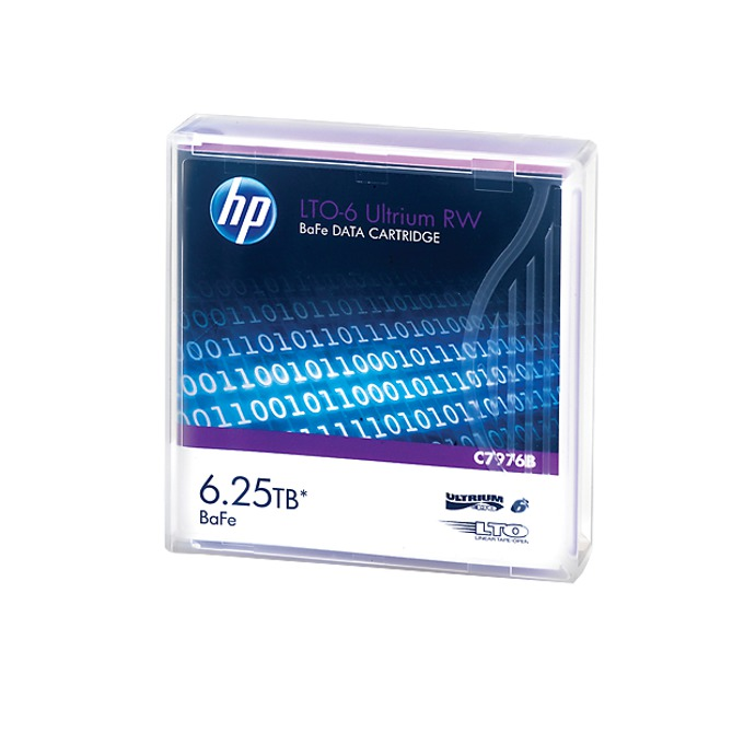 HP LTO-6 Ultrium 6.25TB BaFe RW Cartridge C7976B