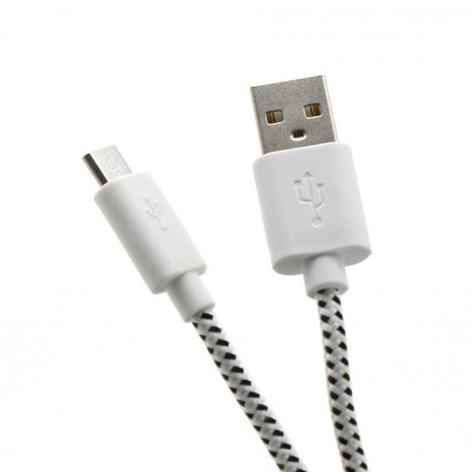 Кабел SBOX CP01-04-002W, USB A(м) към USB Micro B(м), 1m, бял image