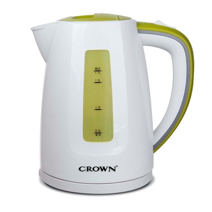 Електрическа кана Crown CK-1832, вместимост 1,7 л., 2200W, терморегулатор, бяла image
