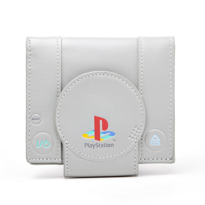 Портмоне Bioworld Playstation Shaped Playstation Bifold, бяло image