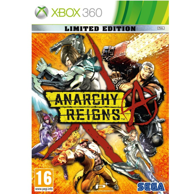Anarchy Reigns - Limited Edition, за Xbox 360 image