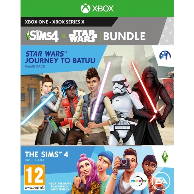 Игра за конзола The Sims 4 + Star Wars - Journey to Batuu Expansion Pack Bundle, за Xbox One image