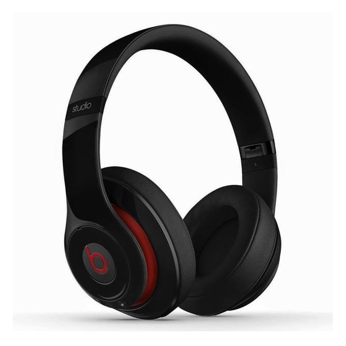 Слушалки Beats by Dre Studio Wireless, черни, безжични, професионални, Bluetooth, сгъваеми, микрофон image