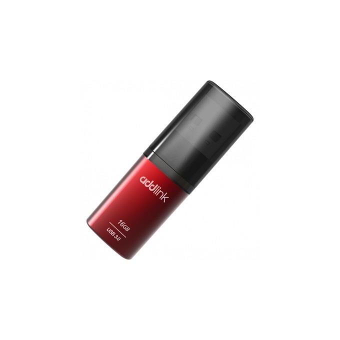 Памет 16GB USB Flash Drive, Addlink U55, USB 3.0, червена image